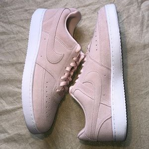 Nike Court Vision Low Pink Leather